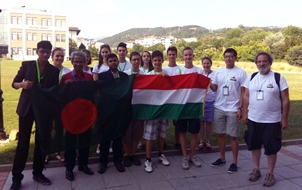 LSBD Students with Foreigner Flag