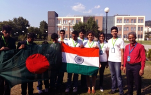 LSBD Students with Indian Students